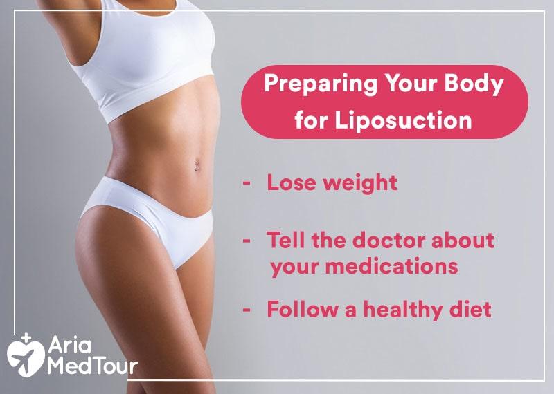 preparing body for liposuction