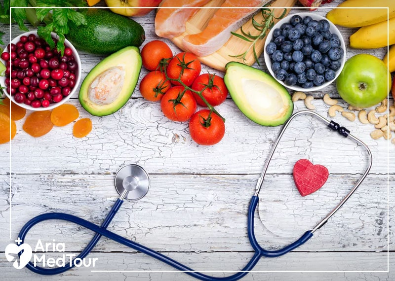 some fruits such as tomatoes, avocados, apples, bananas and etc. that you are allowed to eat before a surgery